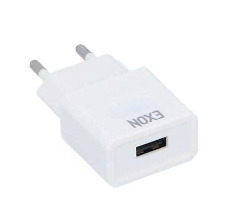 ŁADOWARKA SIECIOWA DO SMARTWATCH EXON USB 5V 1A